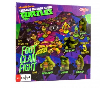 Gra Żółwie Ninja Foot Clan Fight
