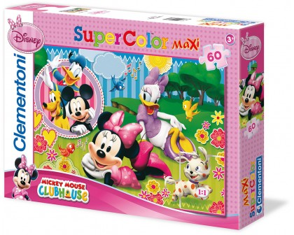 Puzzle  Maxi Minnie's Friends 60 el.